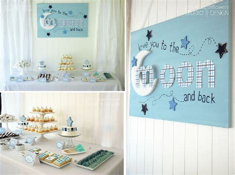 moon and back baby shower theme home decorating trends
