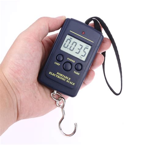 Timbangan Gantung Digital Scale Mini Portable portable 40kg 10g mini digital luggage scale held lcd