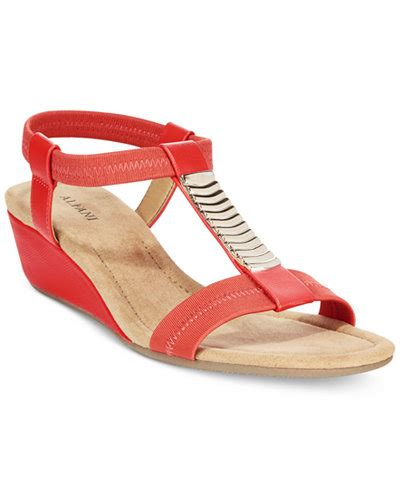 wedge sneakers macy s alfani s vacay wedge sandals only at macy s