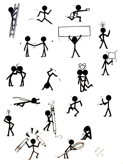 stick figure stick figure concepts by jessehenley on deviantart