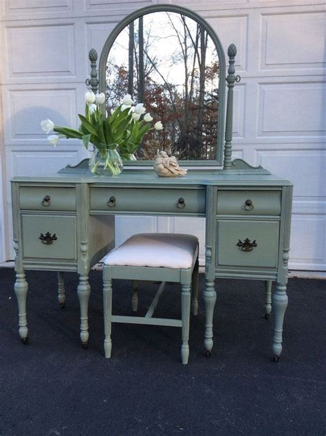 white distressed dressing table painted distressed vintage vanity mirror shabby chic