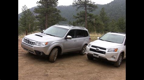Rav4 Vs Crv Vs Forester by 2014 Subaru Forester Vs Rav4 Cr V And Cx 5 Who Wins