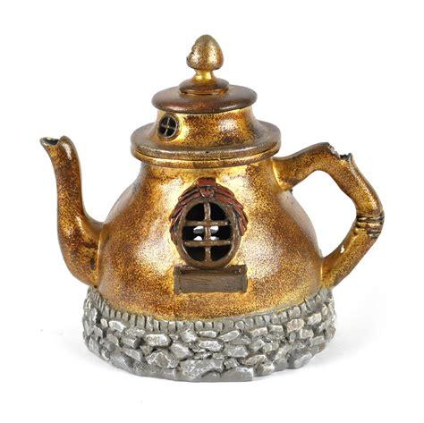 Teapot Melamin Golden golden teapot home fiddlehead garden