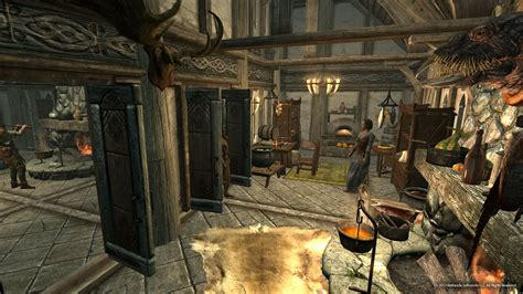 skyrim trophy room skyrim hearthfire trophy room wallpapers high resolution hd wallpapers