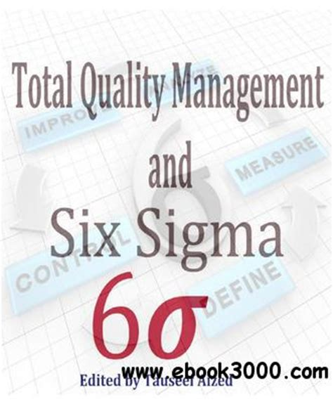 What Is Design For Six Sigma Ebook E Book quot total quality management and six sigma quot ed by tauseef