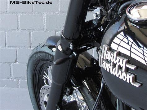 Motorrad Auspuff Pulverbeschichten Kosten by Blinkerhalter Quot Gabel Quot F 252 R Dyna 174 Modelle Beleuchtung