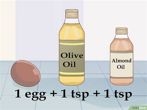 Minyak Zaitun Buat Rambut cara membuat rambut lebih sehat dengan minyak zaitun wikihow