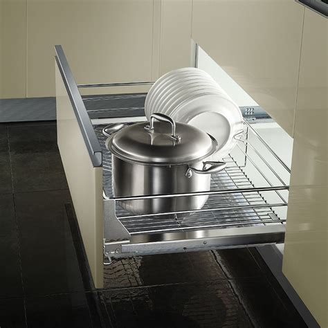 stainless steel swing out pantry kitchen pantry pull out sliding stainless steel basket