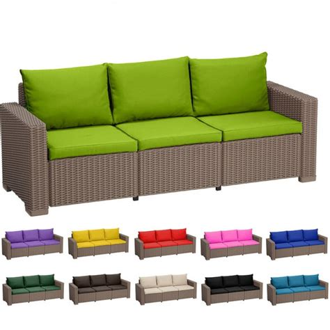 replacement sofa seat cushions replacement 6 seat cushion set for keter allibert
