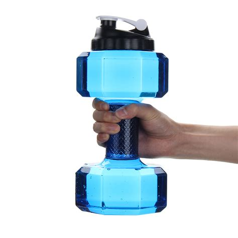 ipree 2 2l creative portable dumbbell bottle sports travel