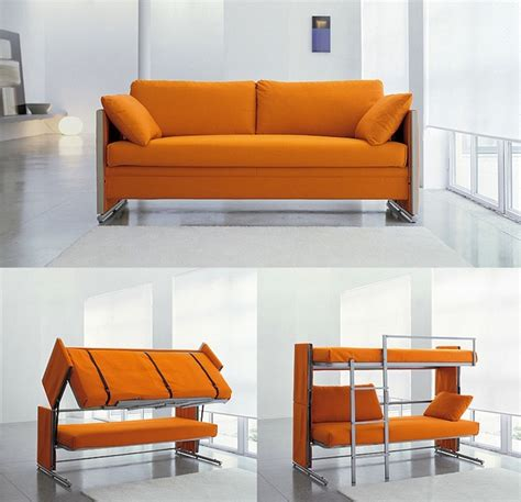 sofa that converts into bunk beds multifunctional sofa bunk bed my modern met