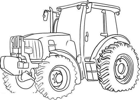 tractor coloring page free printable coloring pages