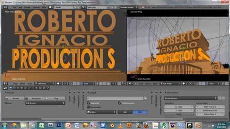 templates for blender 20th century fox blender tutorials intros how to custom 20th century