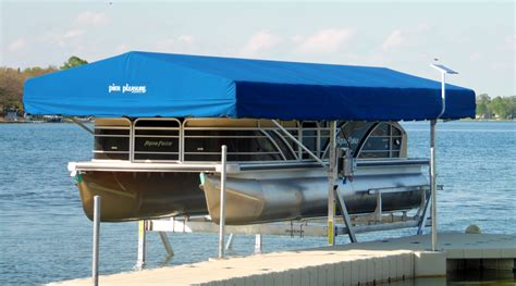 pontoon lift pontoon boat lifts in the detroit lakes mn area at ease
