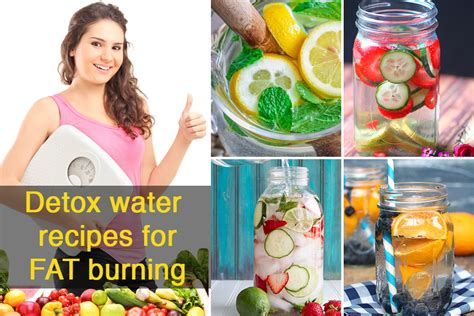Recipes For Burning Detox Water by Detox Water Recipes To Burn And Cleanse Your