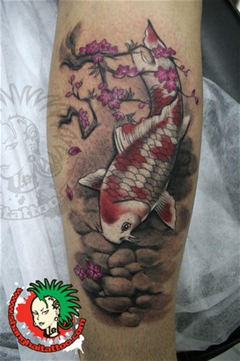 chinese fish tattoo designs traditional watercolor style koi koi