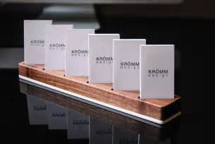 business card display vertical business card display walnut and acrylic