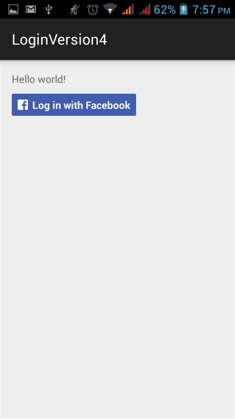 android studio r layout activity main error android studio 1 1 0 facebook sdk login stack overflow