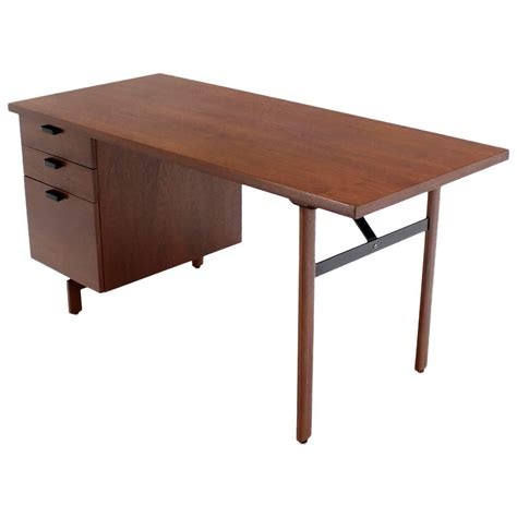 mid century modern desks for sale mid century modern walnut desk for sale at 1stdibs