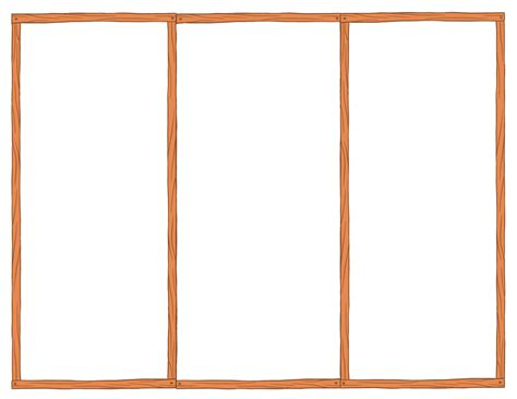 Outline Of A Leaflet by Free Tri Fold Brochure Templates Blank Printables