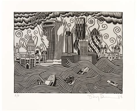 printable art for sale stanley donwood the pollution of new troy print