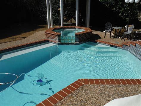 cool pool ideas cool pool designs with glass block san antonio glass blocks