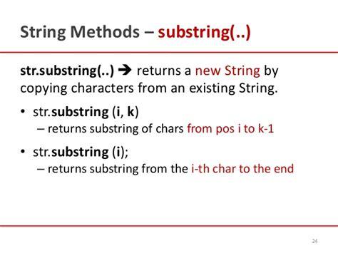 introduction to java strings by kavita ganesan