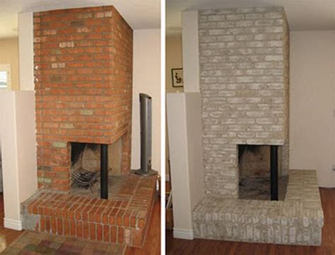 Paint Colors For Brick Fireplace by Properly Paint A Brick Fireplace