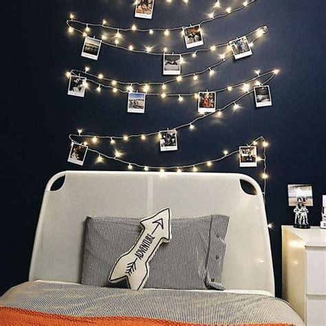 wall fairy lights bedroom fairy lights with photos festive lights