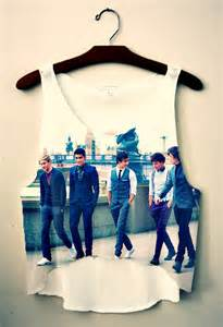 one direction tank top on the hunt