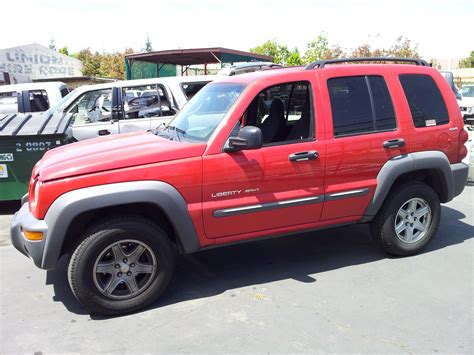 liberty jeep 2002 used salvage parts 2002 jeep liberty sport 4x4 3 7l v6 4