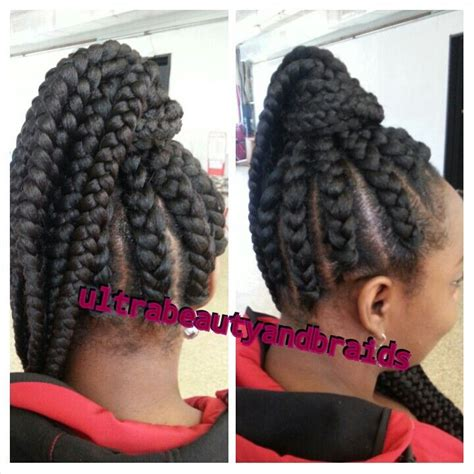 jumbo braid updo jumbo braids goddess braids ultrabeautyandbraids com