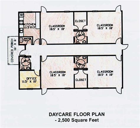 daycare floor plan daycare center floor plans own building plans