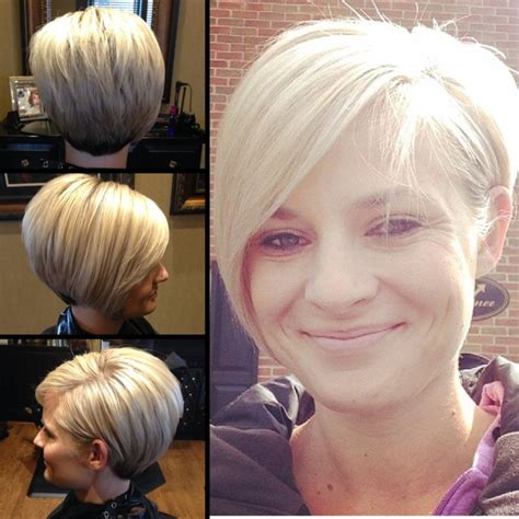 back side bob cut long layered asymmetrical pixie by ccovey short hair