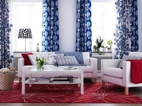 red and blue home decor 4th of july home decorating ideas