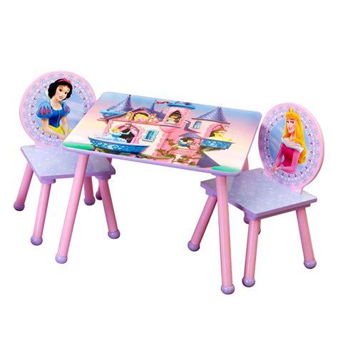 disney princess table and chair set