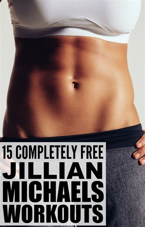 15 jillian workout you don t to pay for