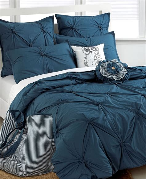dark blue bedding tufted squares comforter set from macy s sleep to dream