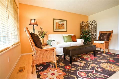 impressive decorating living room with sectional sofa with impressive living room decor ideas with orange accent wall