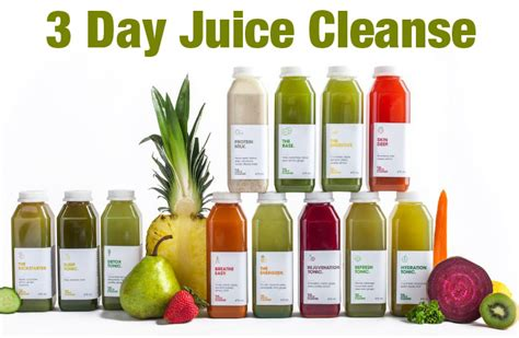 3 Day Detox Liquid Cleanse by Weight Loss Juicing Plan Dandk