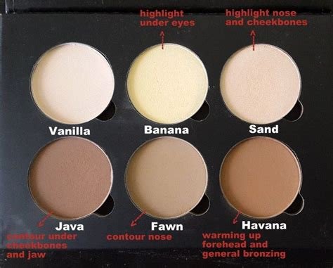 Lt Pro Powder Blush Refill contour kit contours and light skin