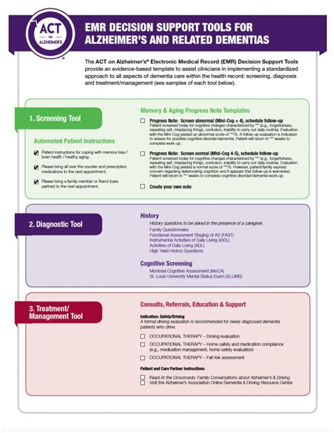 standardized care plan managing alzheimer s patients at home practice tools act on alzheimer s