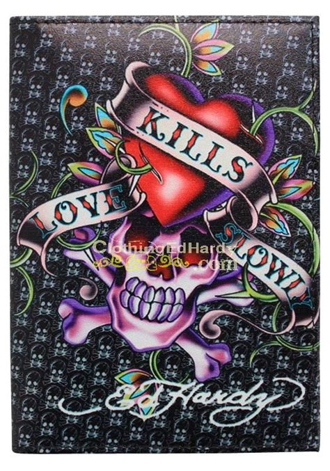 ed hardy skull tattoo designs image detail for 187 ed hardy kills slowly design