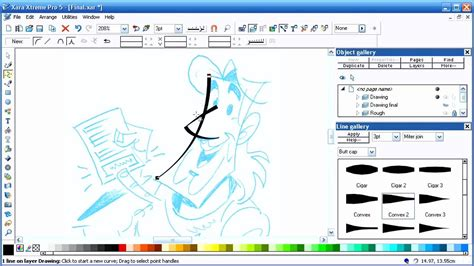 tutorial xara design drawing coloring with xara xtreme pro part 1 youtube