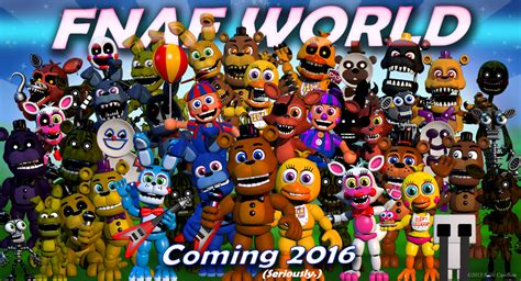 scott cawthon says the five nights at freddy s rpg won t be out until 2016 fnaf world upcoming