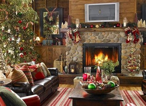 chimenea de navidad como decorar la chimenea para navidad