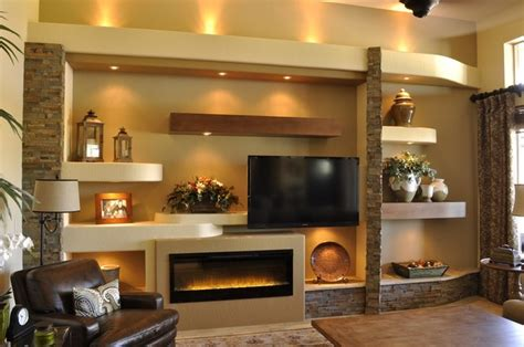 media wall ideas media wall 4 contemporary family room phoenix by