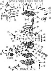 1966 69 quadrajet 4 barrel carburetor illustrated parts
