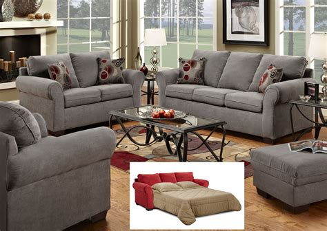 1640 Graphite Gray Sofa Set Living Room Sets Collections Gray Living Room Furniture Sets