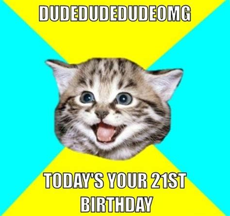 Happy 21st Birthday Meme - 21st birthday memes 3 really funny birthday memes